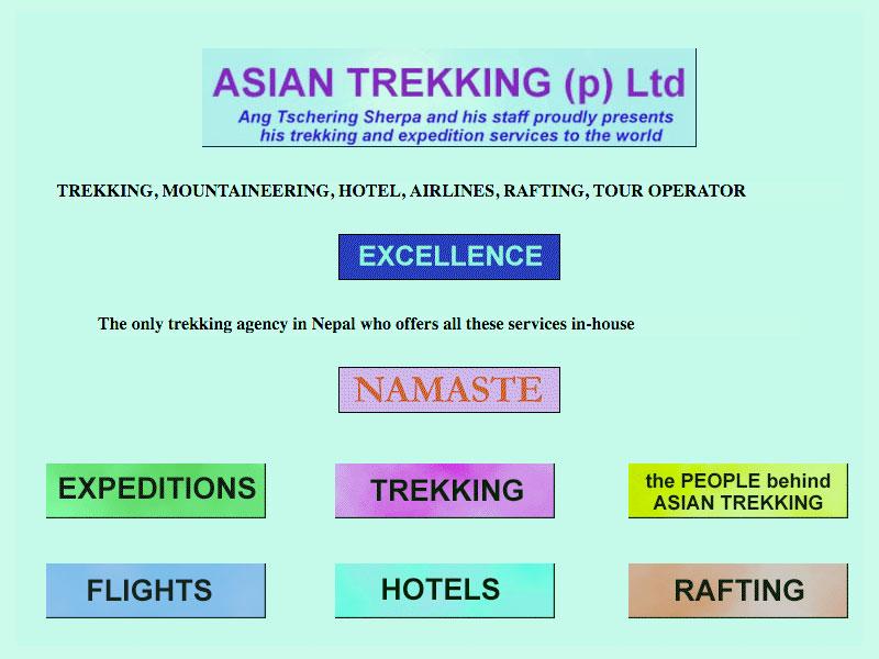 Asian Trekking enters the Digital World