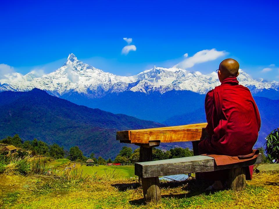 buddha and annapurna